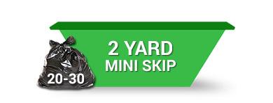 2 yard mini skip