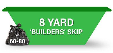 8 yard builders skip