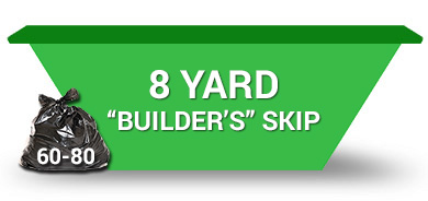 8 yard skip